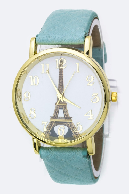 Eiffel Tower Fashion Watch - orangeshine.com