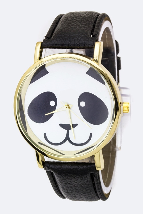 Panda Print Fashion Watch - orangeshine.com