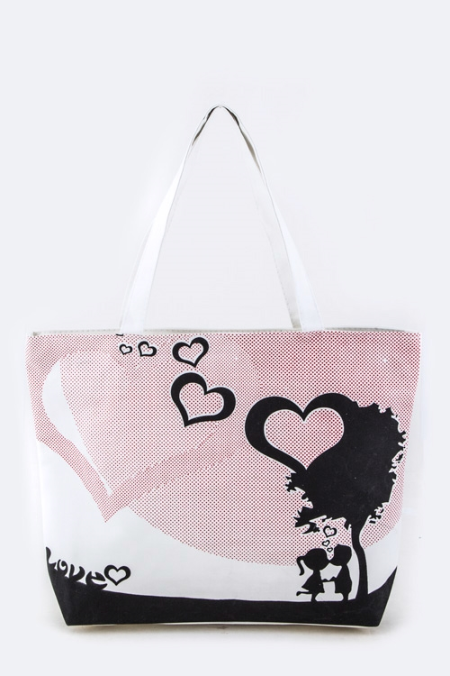 Love Fashion Tote Bag - orangeshine.com