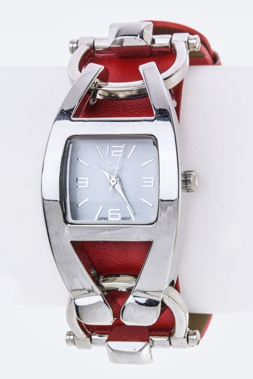 Hinged Case Fashion Watch - orangeshine.com