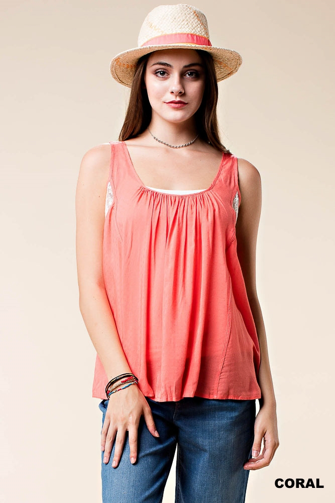 MIXED LACE TOP - orangeshine.com