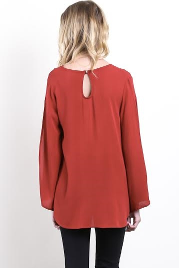 Open Sleeved Tunic - orangeshine.com