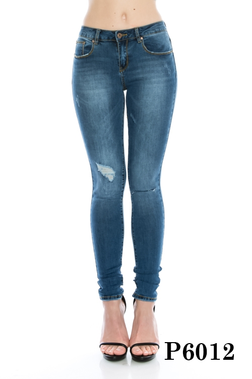 DENIM LEGGINGS - orangeshine.com