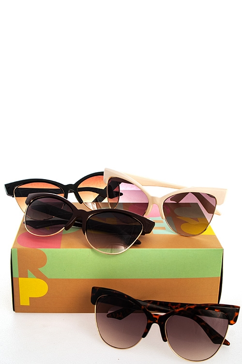 Chic Cat Eye Sunglasses - orangeshine.com