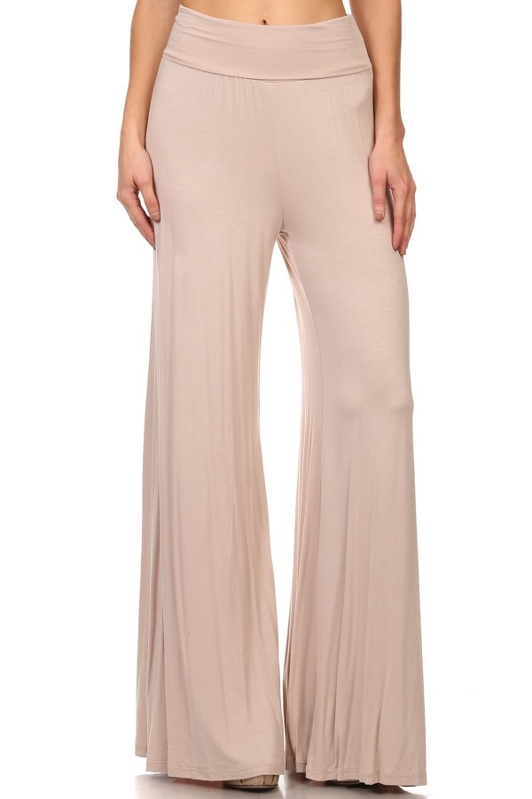 Day Off Palazzo Pants - Taupe - orangeshine.com
