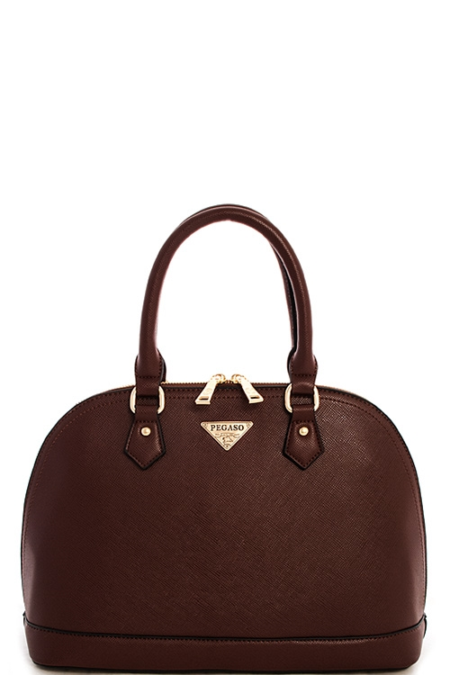 Alba Pegaso Domed Satchel - orangeshine.com