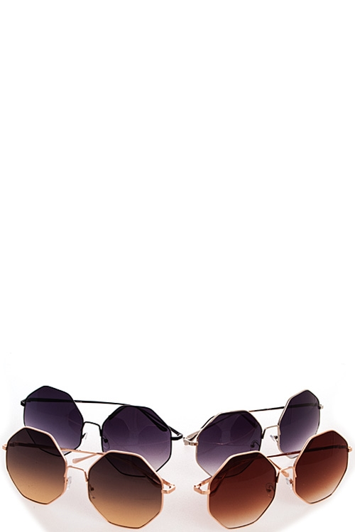 Hexagonal Fashion Sunglasses - orangeshine.com