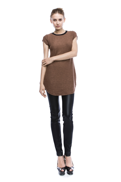 Brushed Fabric Tunic - orangeshine.com