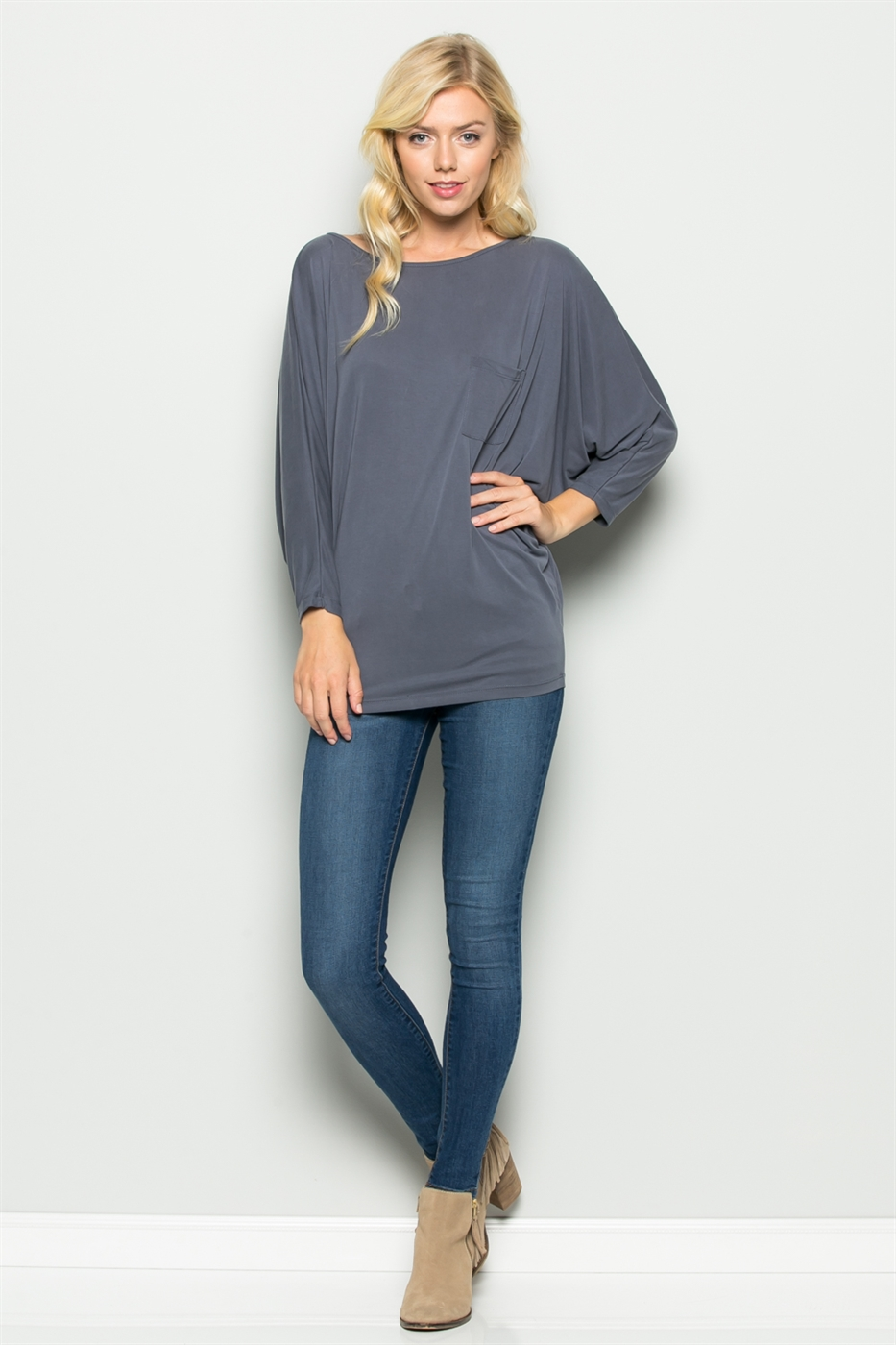 DOLMAN SLEEVE TOP - orangeshine.com