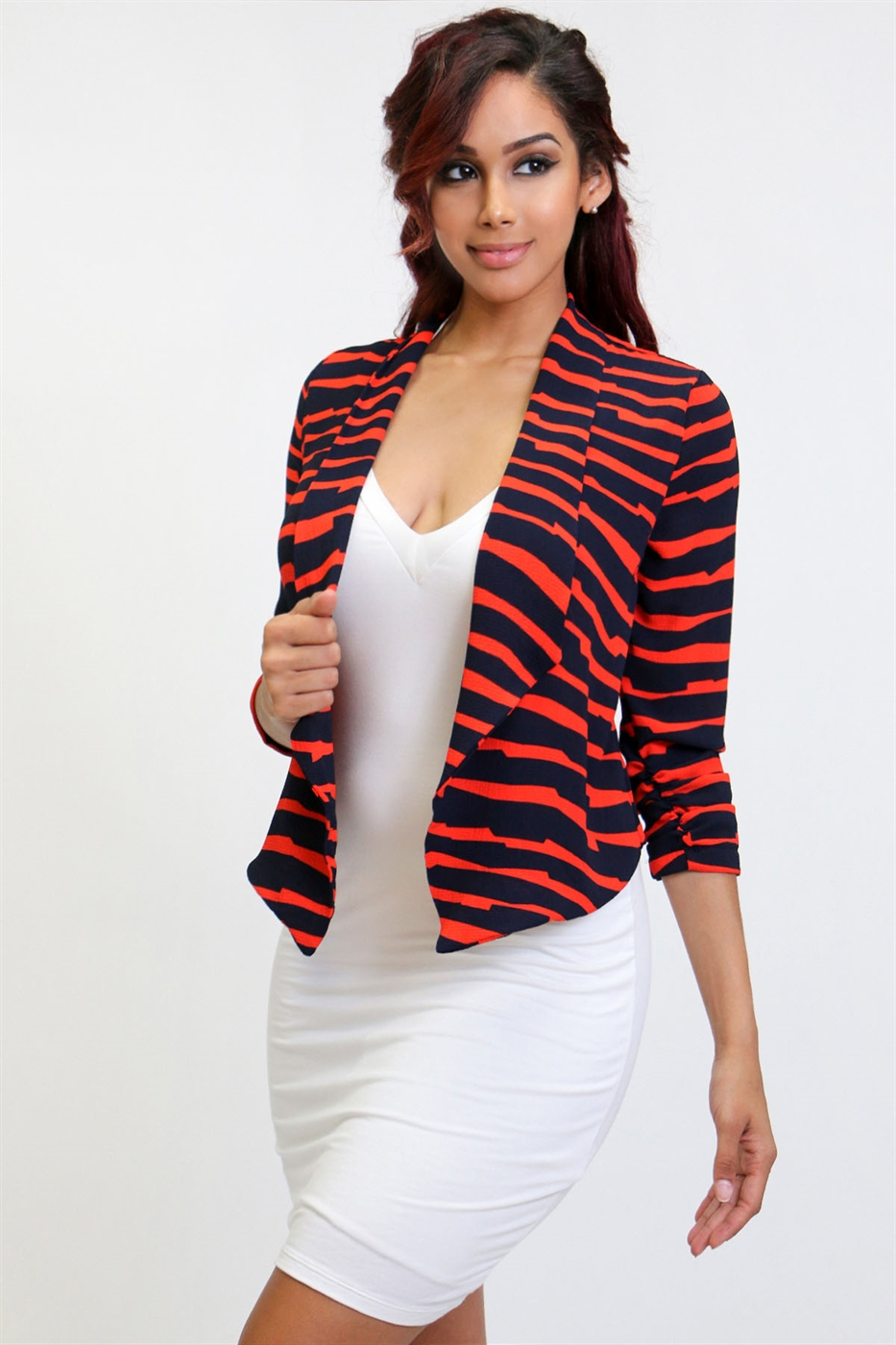 Thin flowy jacket - orangeshine.com