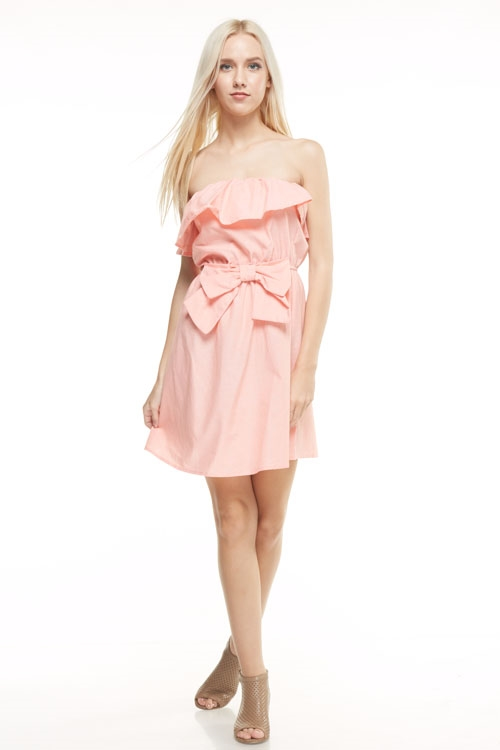 off shoulder ruffle dresses - orangeshine.com