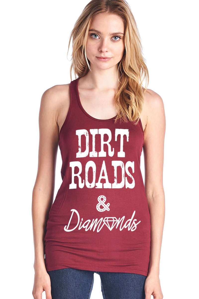 Dirt Roads Tank Top - orangeshine.com