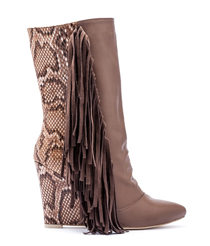 Wedge Bootie - orangeshine.com
