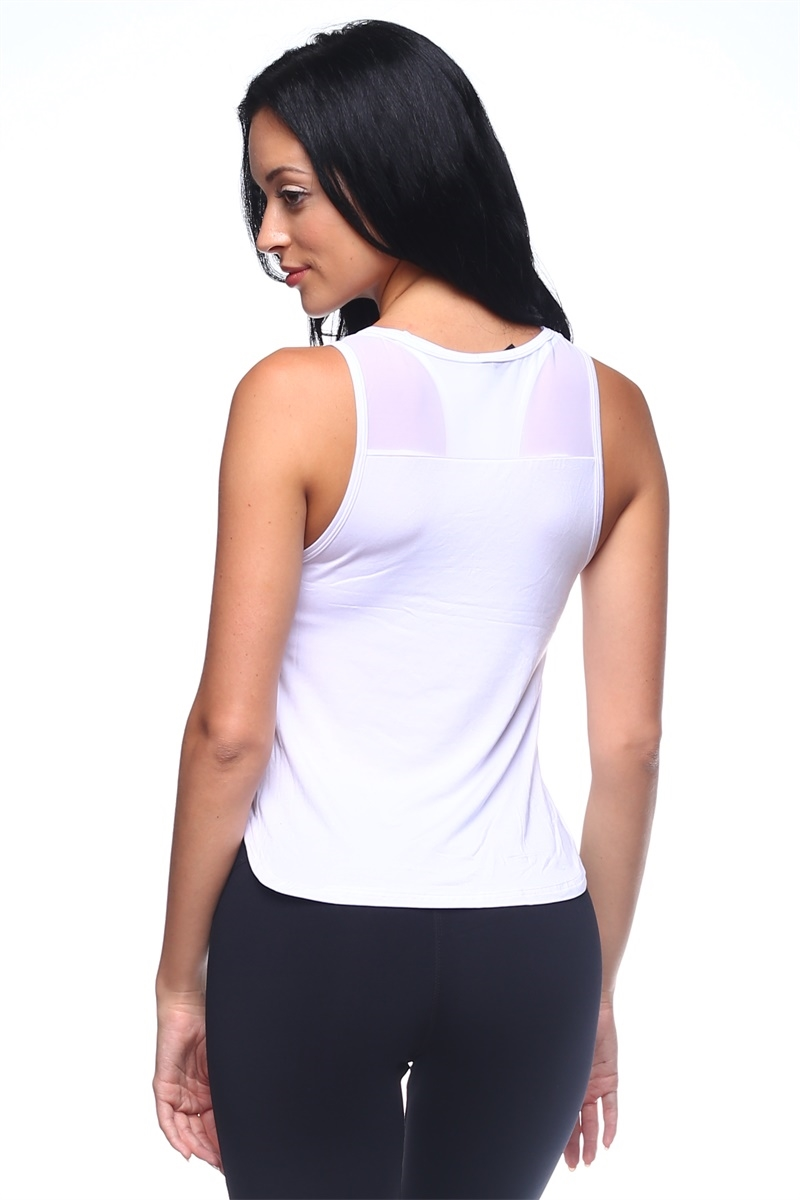 Women Mesh Royan Tank - orangeshine.com