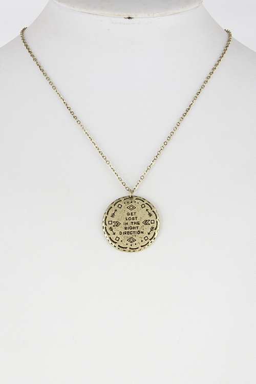 Philosophy Necklace - orangeshine.com