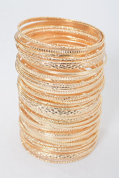 Shiny Bangle Formal Bracelet - orangeshine.com