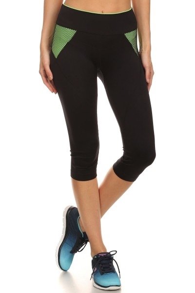 Sports Leggings Athletic Black - orangeshine.com