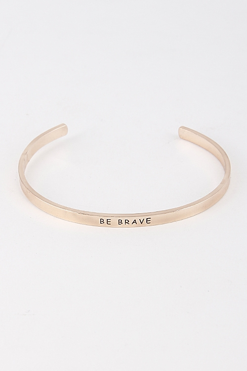 Be Brace Thin Bracelet - orangeshine.com