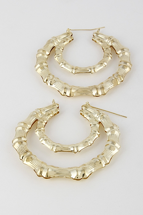 Hoop Crescent Inspired Earring - orangeshine.com