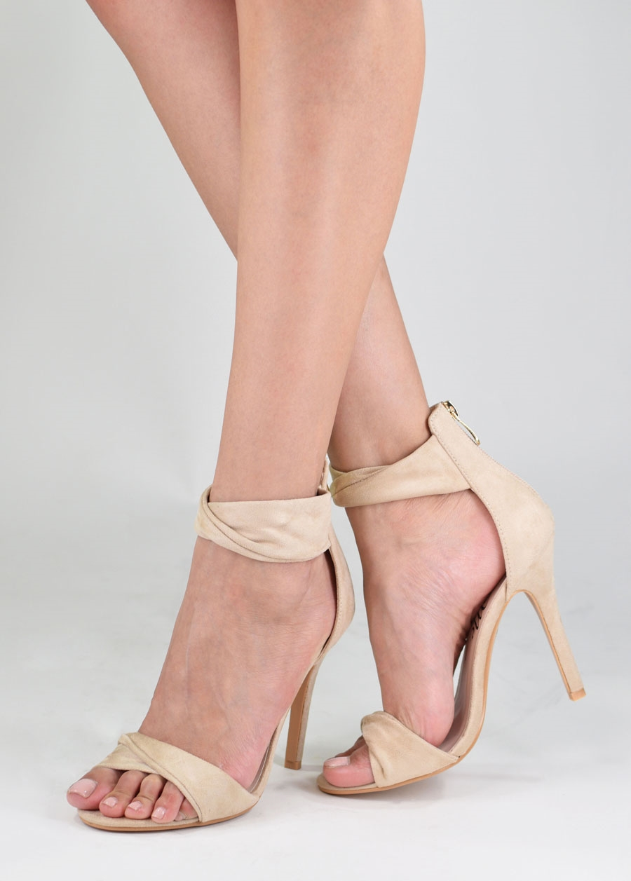 Open Toe Stiletto Heel - orangeshine.com