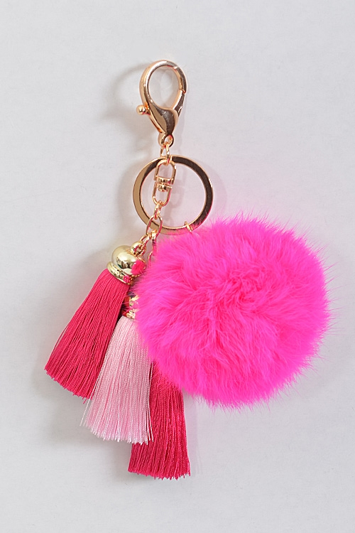 Adorable Solid Color Tassel - orangeshine.com