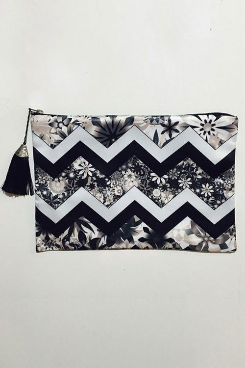 Chevron Original Clutch - orangeshine.com