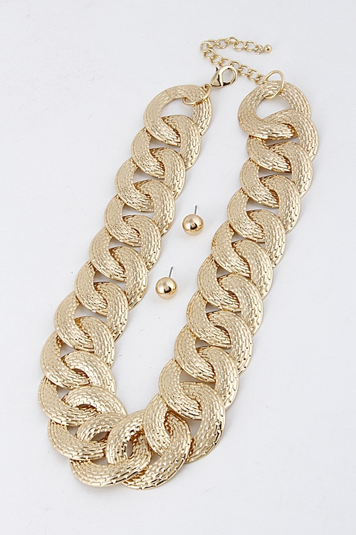 Thick Chain Necklace - orangeshine.com