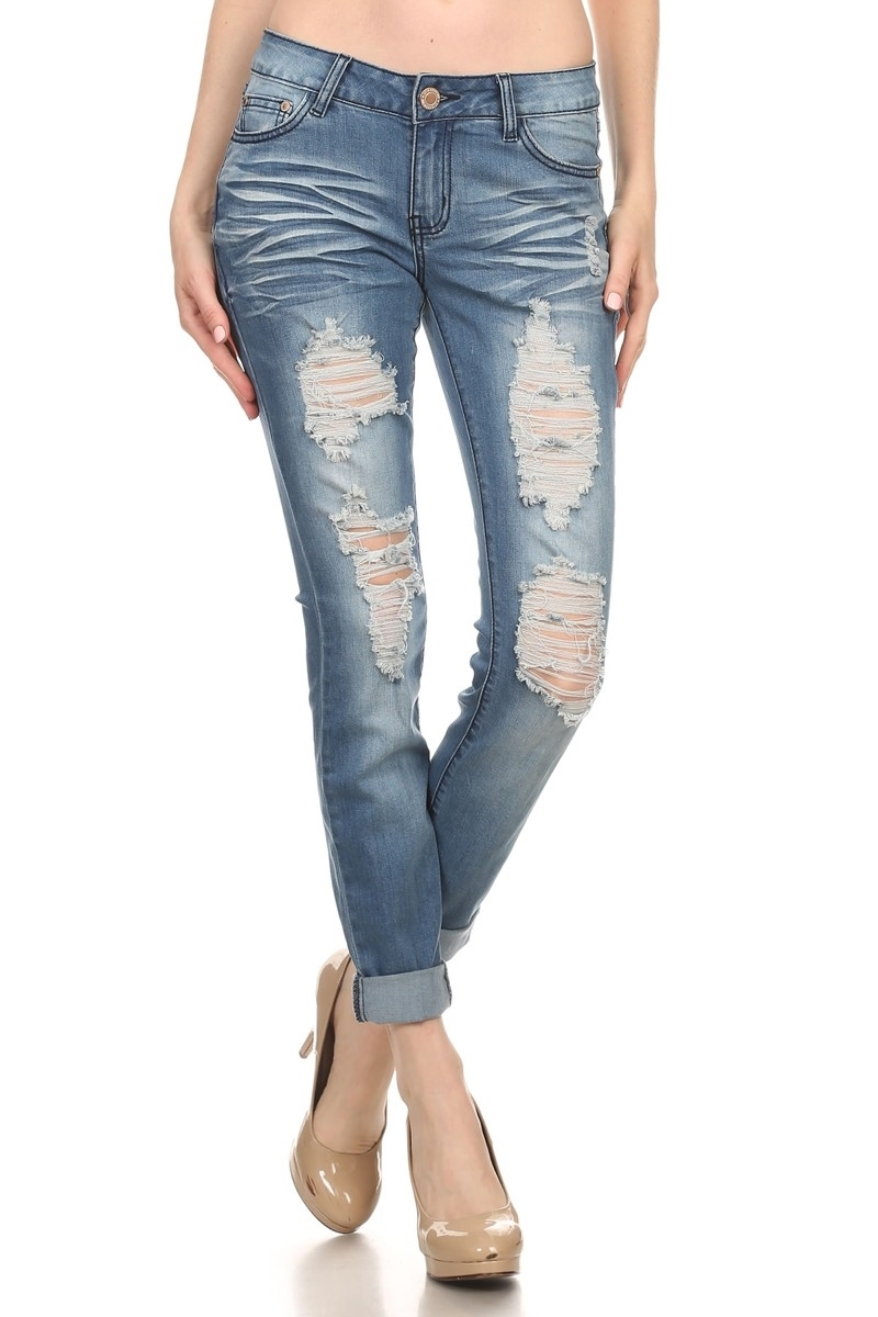 DENIM JEANS EUS-013 - orangeshine.com