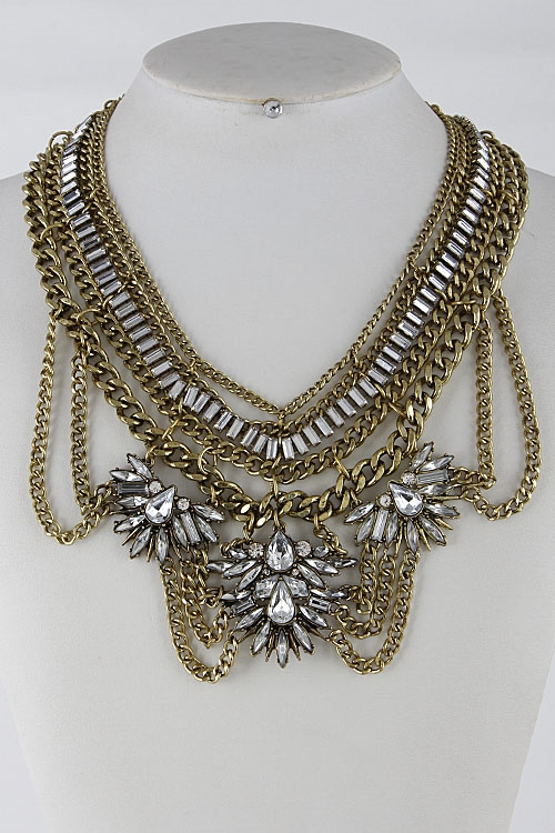 Antique Statement Necklace - orangeshine.com