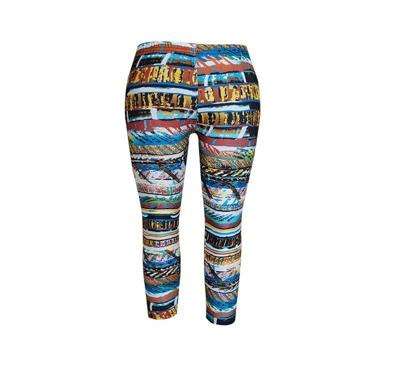 Kids Leggings Abstract Girls - orangeshine.com