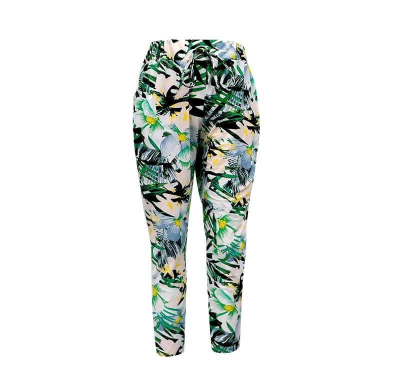 Big Kids Harem pants Floral - orangeshine.com