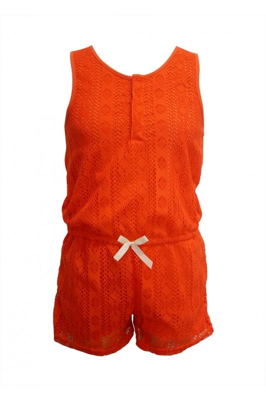 Kids Rompers Lace Bow Tie - orangeshine.com