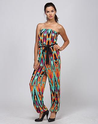 70`S INSPIRED JUMPSUIT - orangeshine.com