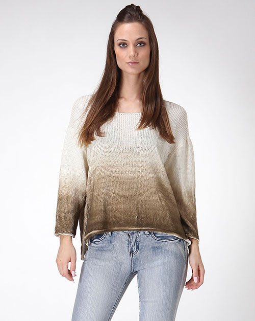 OMBRE KNIT SWEATER - orangeshine.com