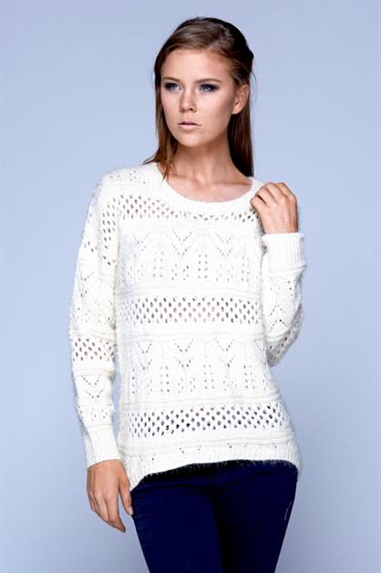 Hairy Lurex Sweater - orangeshine.com