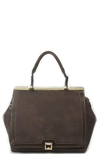 Nice flap over handbag - orangeshine.com