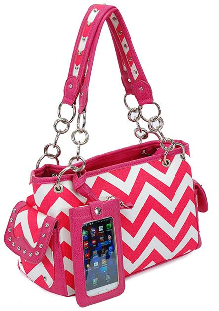 Chevron Western handbags - orangeshine.com