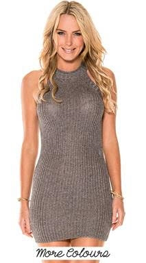knit sexy dress - orangeshine.com