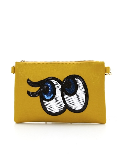 Peek a boo  clutch - orangeshine.com