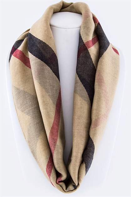 Mad For Plaid Fashion Scarf - orangeshine.com