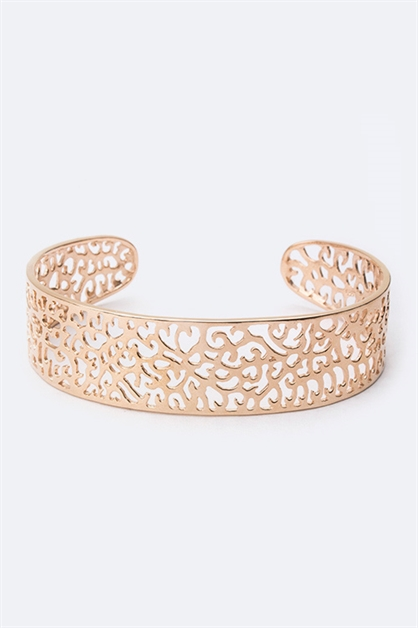 Sterling Silver Filigree Cuff - orangeshine.com