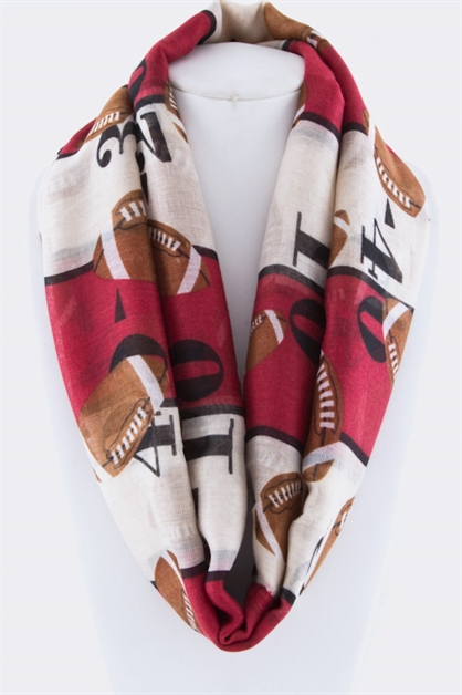 College Football Fashion Scarf - orangeshine.com
