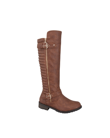 BOOTS WITH ZIPPER - orangeshine.com