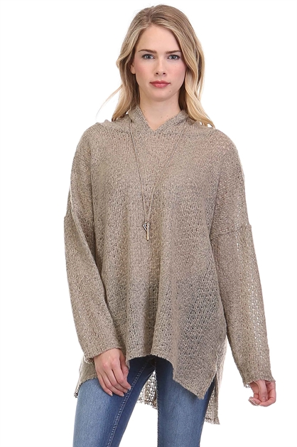 OVERSIZED TUNIC SWEATER - orangeshine.com
