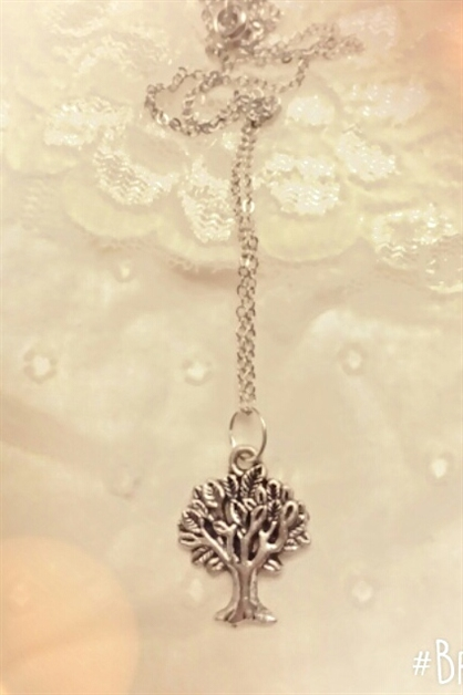 Small Tree of Life necklace - orangeshine.com