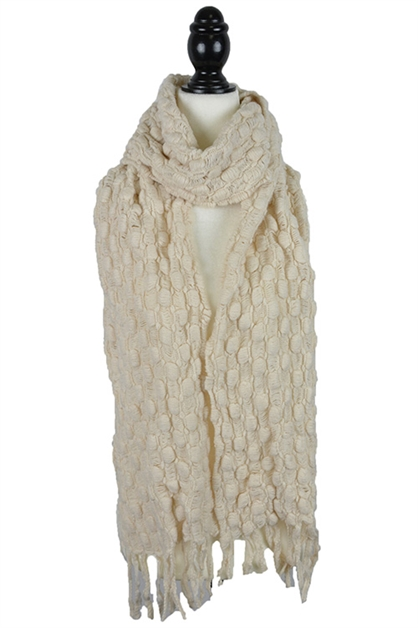 Knitted Oblong Scarf - orangeshine.com