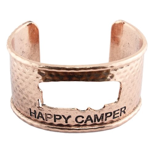 Hammered Happy Camper Cuff Bra - orangeshine.com