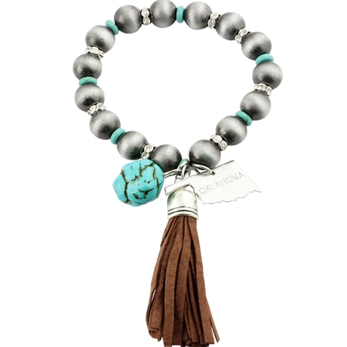Kansas Navajo with Tassel - orangeshine.com