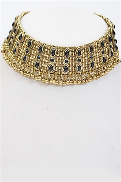 Thick Detailed Choker - orangeshine.com