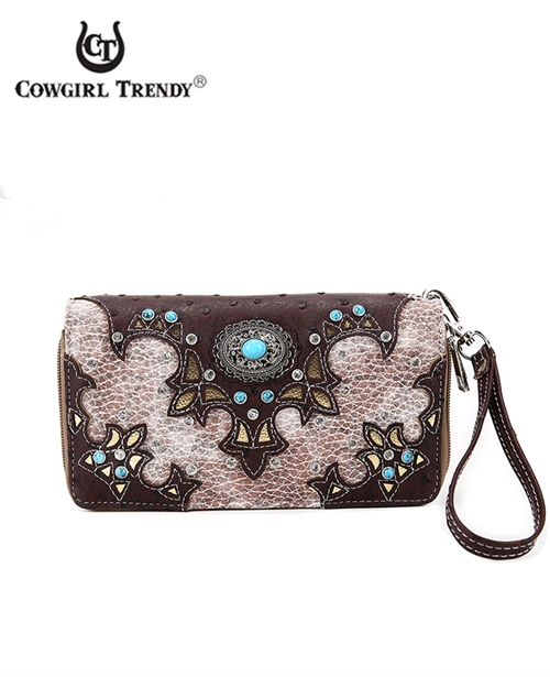 Conch and Stones Wallet - orangeshine.com